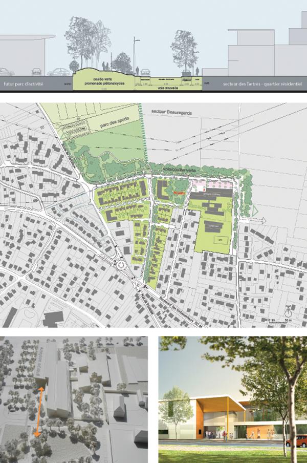 Quintet for Architecte urbaniste definition